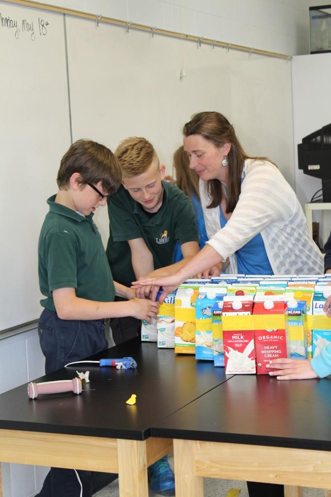 Private School Education Science Physics Valley Fair Milk Carton
