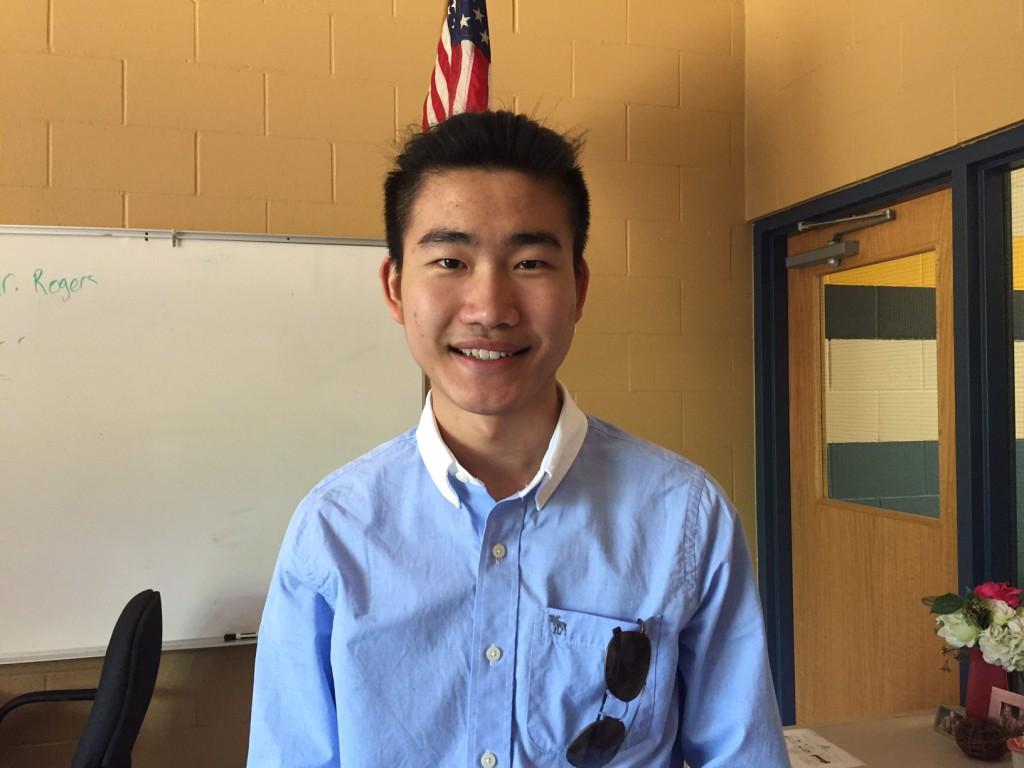 Senior Tony Guo